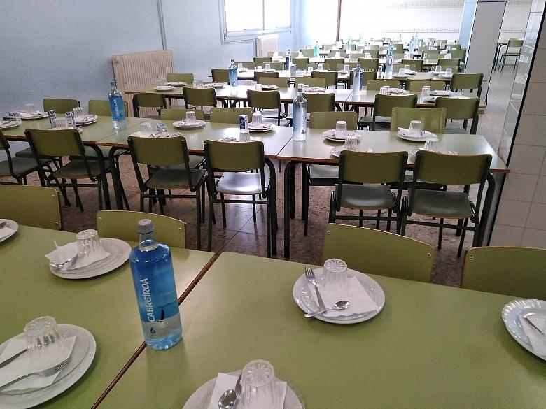 Varios comedores escolares no reciben comida