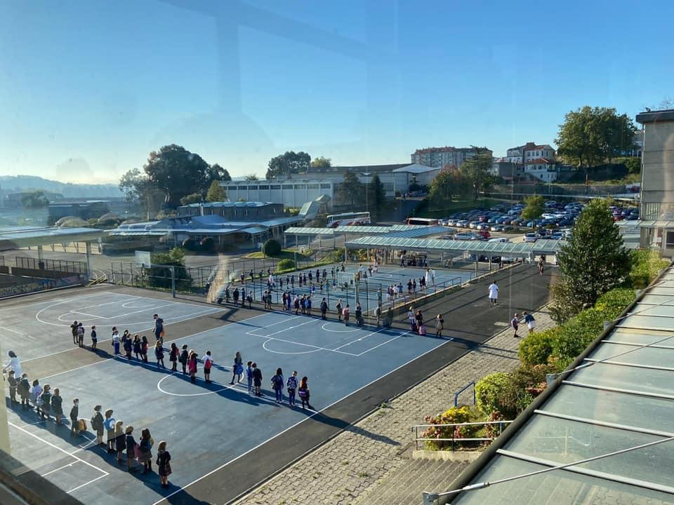 Confinada Un Aula De Uno De Mayores Colegios De A Coruña Santa María Del Mar Por Un Positivo De Coronavirus
