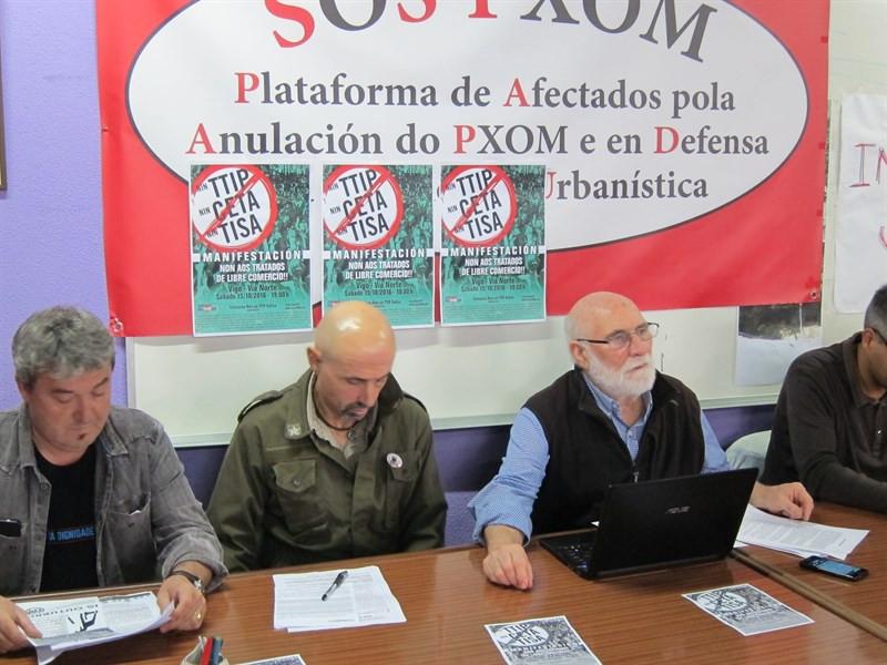 Organizacións políticas, sociais e ecoloxistas chaman á mobilización contra os tratados de libre comercio