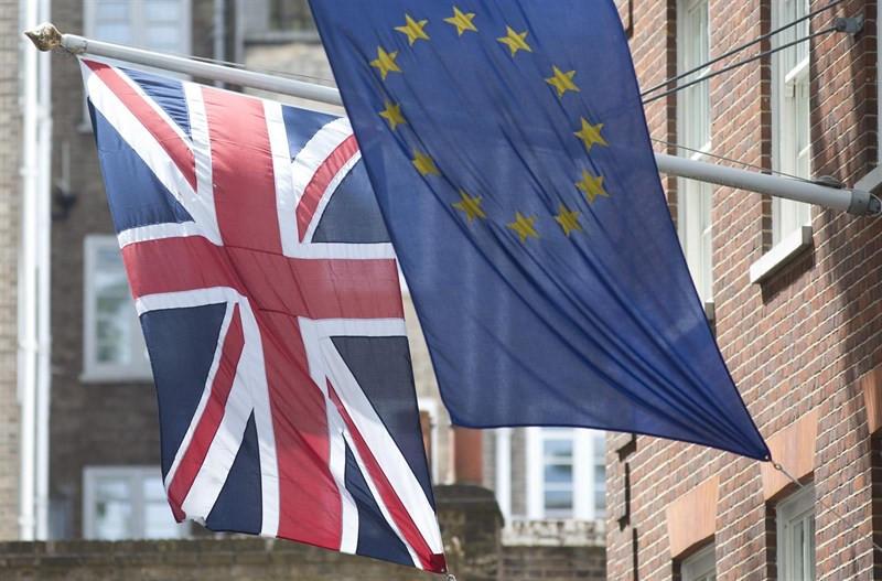 Brexitbanderasreinounidounioneuropea
