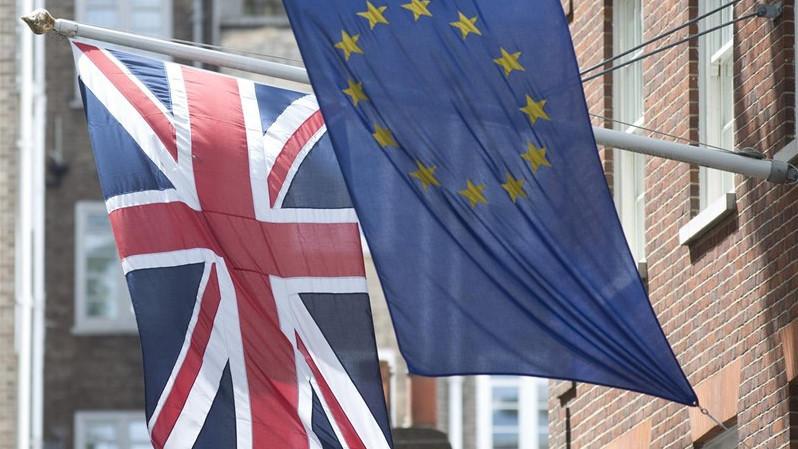 Brexitbanderasreinounidounioneuropea 1