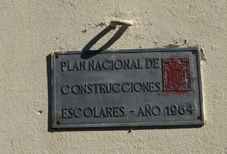 Colegiomanuelmallosimbolofranquista