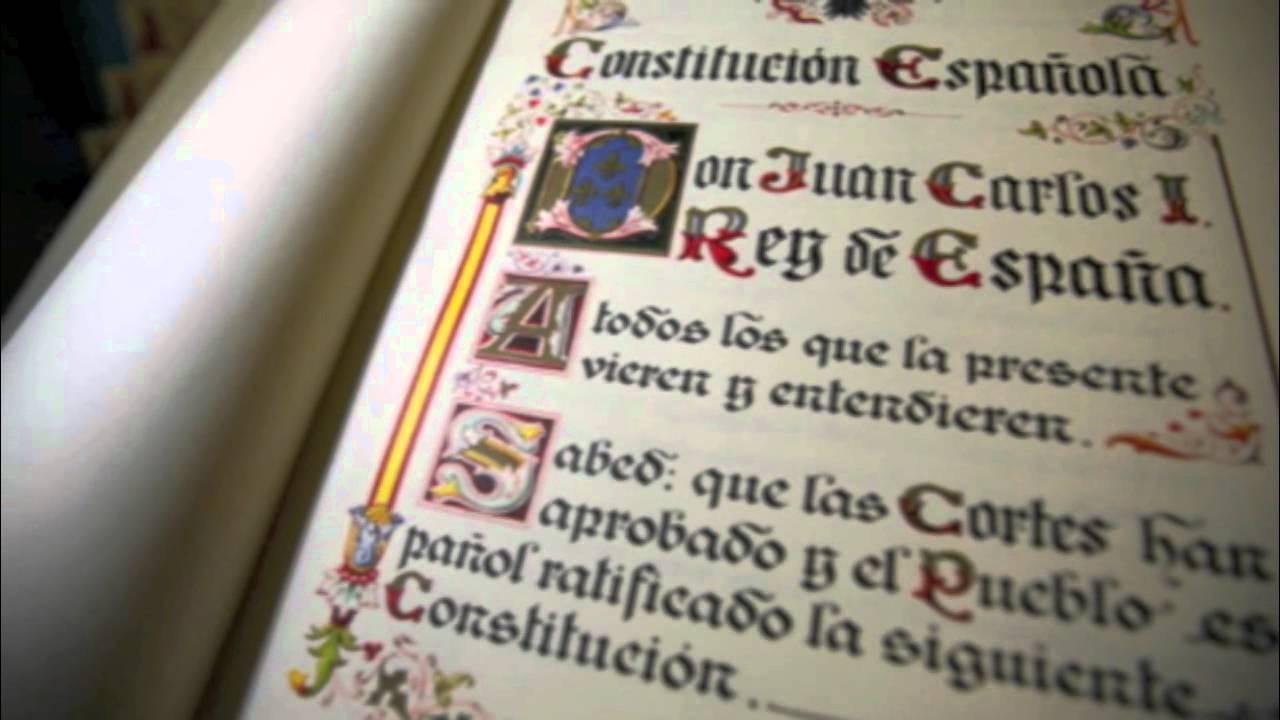 Constitucion espana