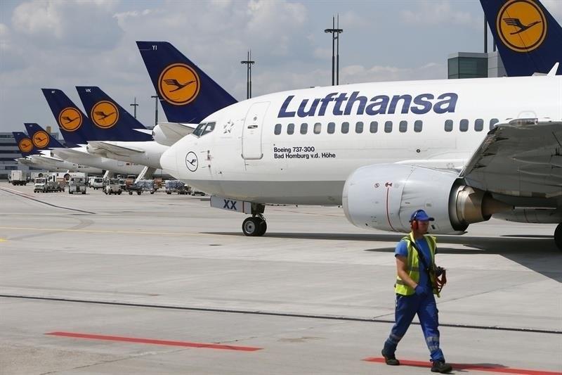 Lufthansaavionaeropuerto