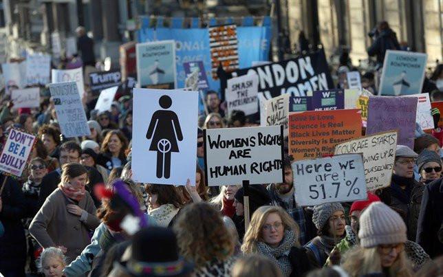 Mujeresmarchawomensrights