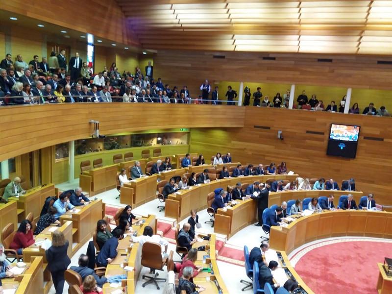 Parlamentogaliciasesionplenaria