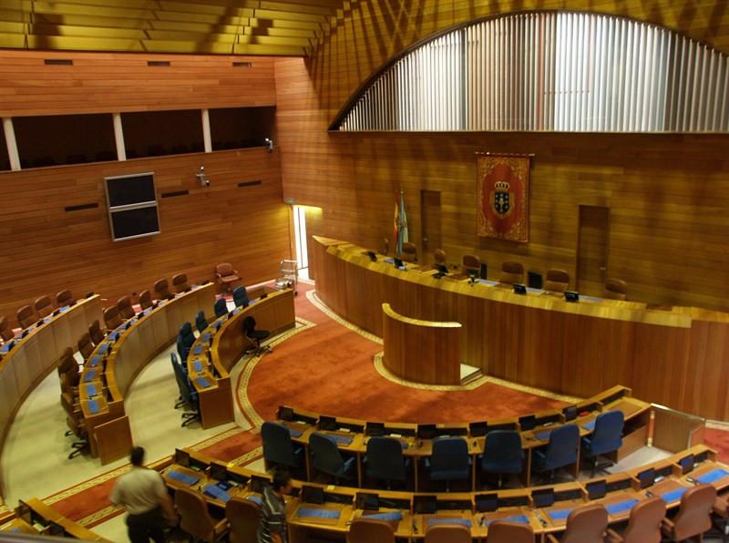 Parlamentogaliciavacio