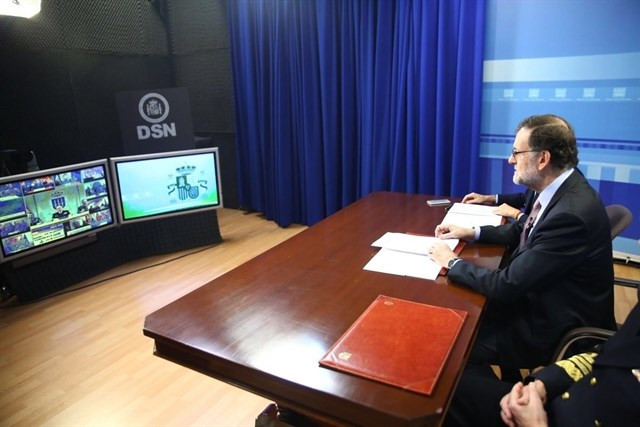 Rajoyvideoconferencia