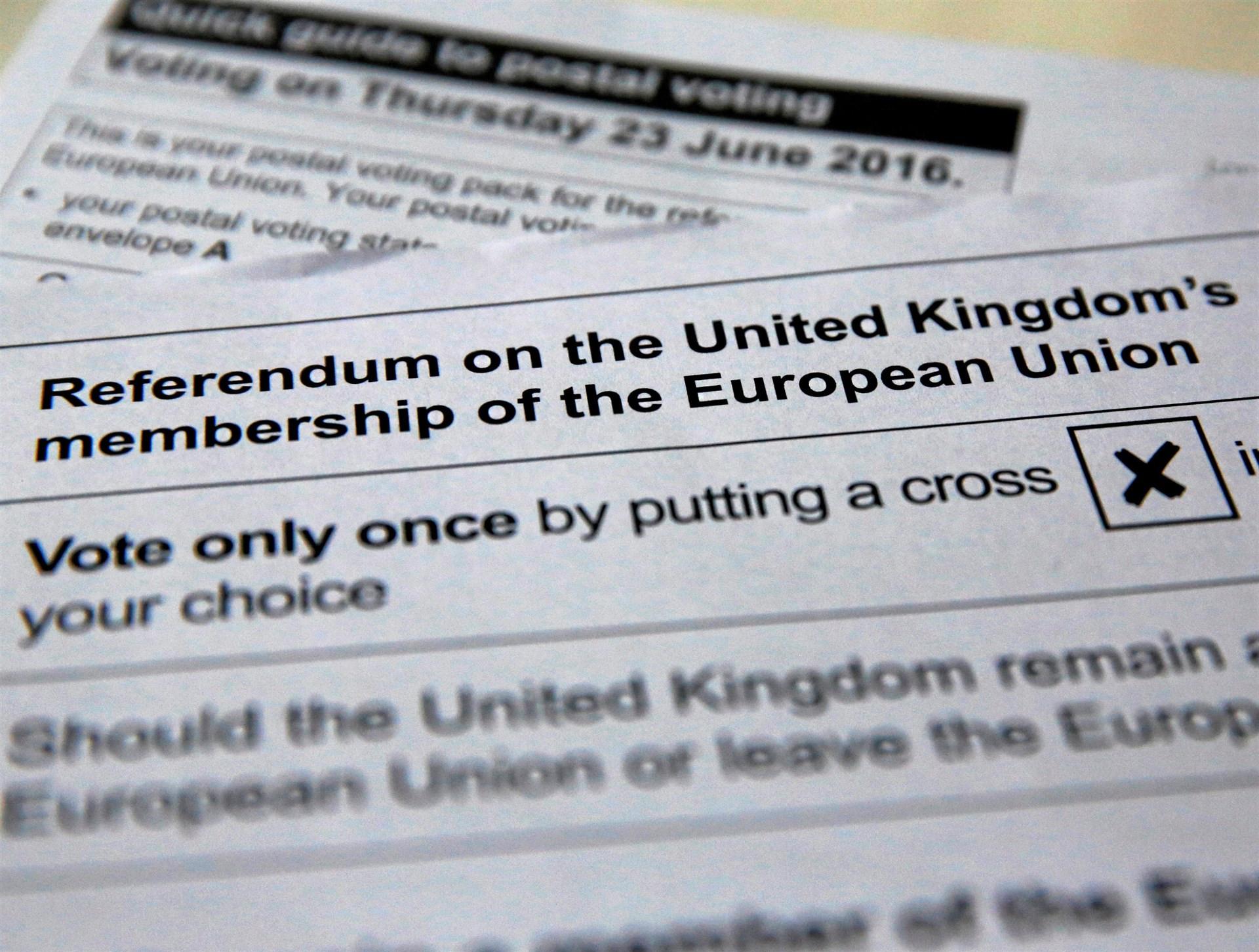 ReferendumbrexitUK