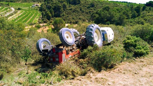 Tractorvolcado