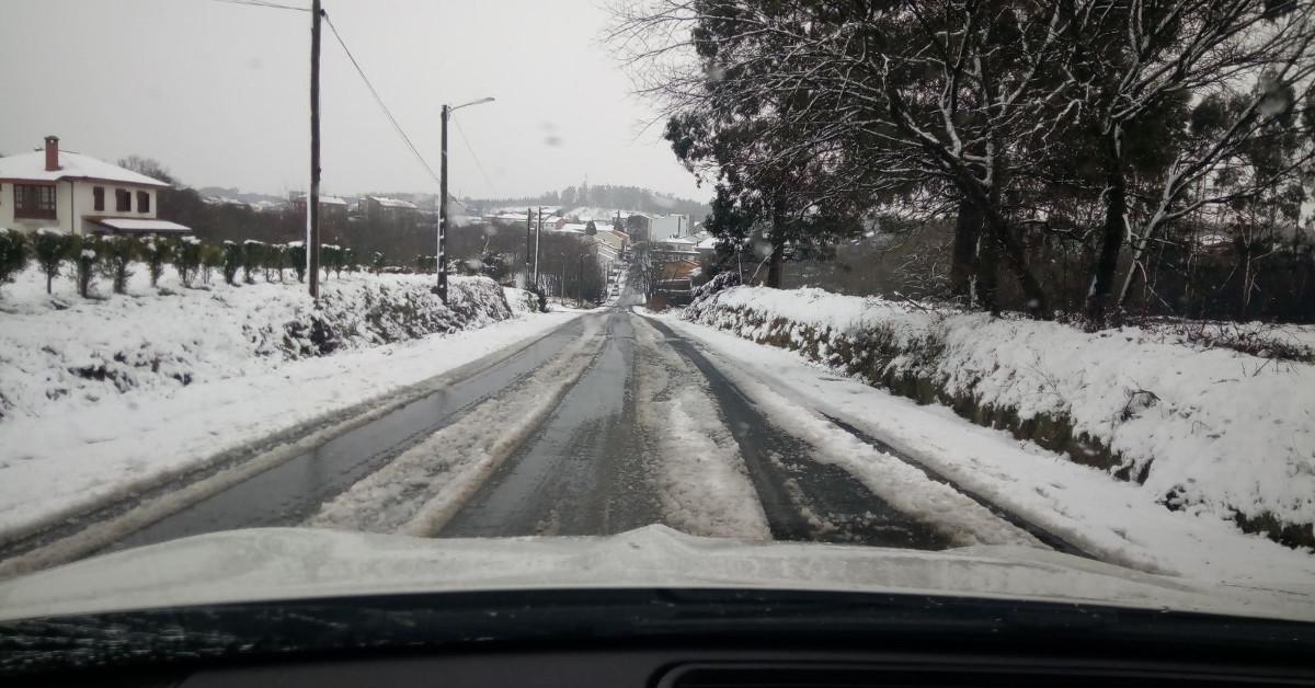 Carreteras nevadas galicia
