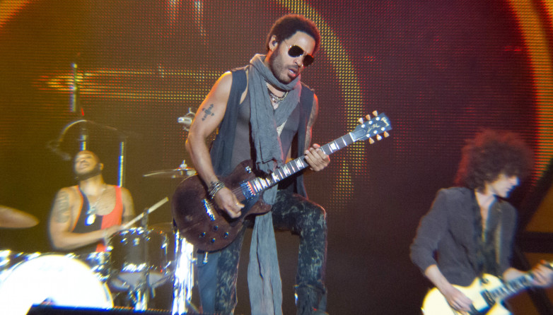 Lenny Kravitz Rock in Rio Madrid 2012