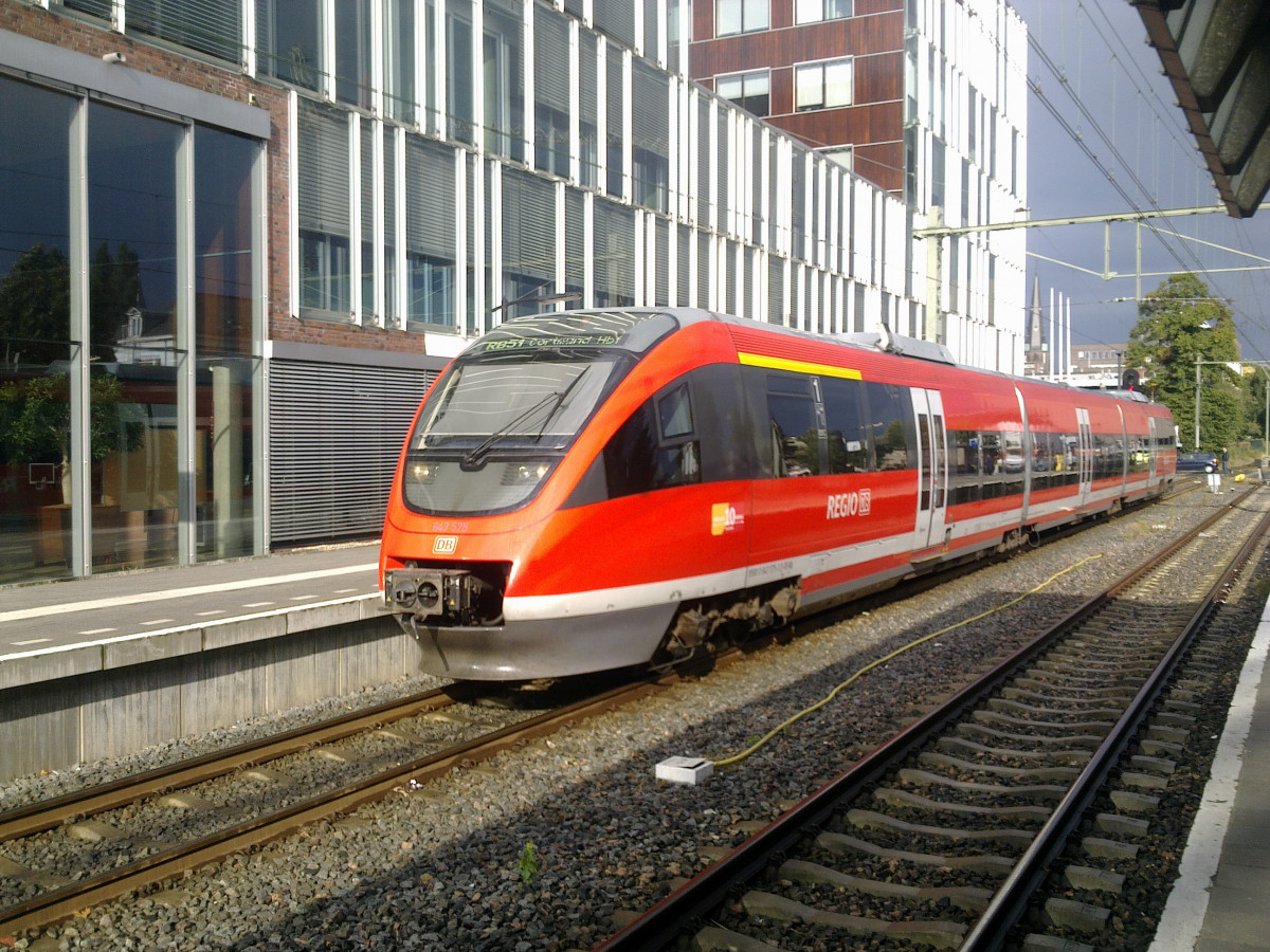 DB train in Enschede