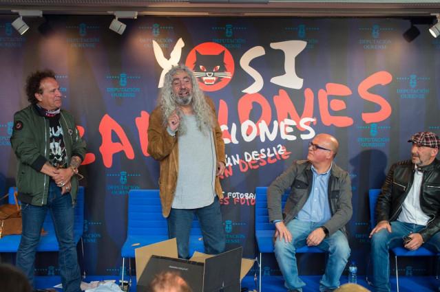 El cantante de Los Suaves 'Yosi' presenta su libro en un acto en el que asegura