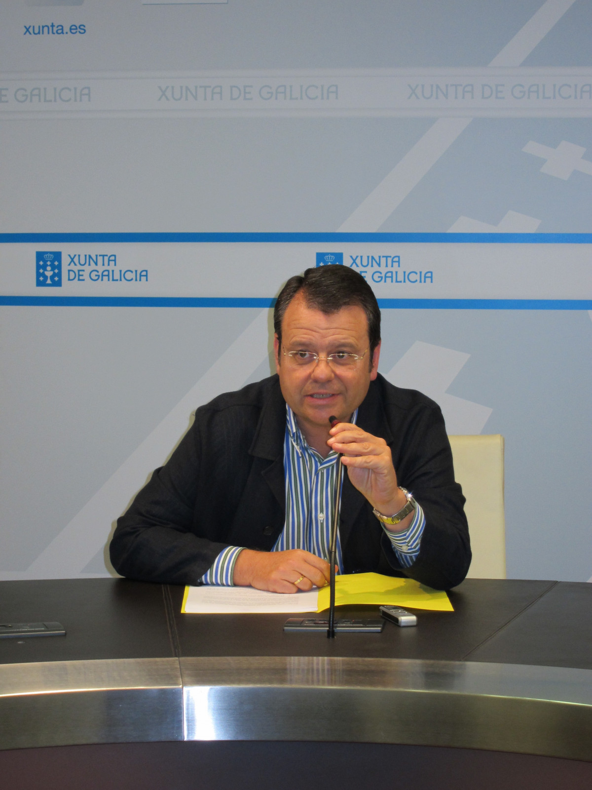 El Director Xeral De Industria, Enerxía E Minas, Ángel Bernardo Tahoces