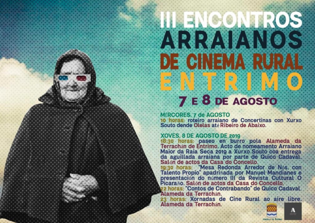 Cartel de Arraianos de Cinema Rural 2019