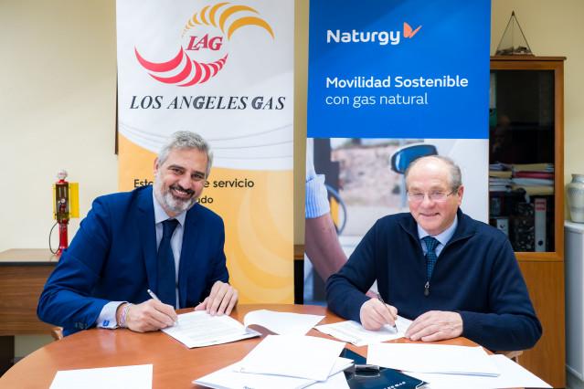 Acuerdo entre Los Ángeles Gas y Naturgy