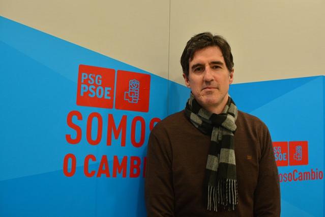 El vicesecretario xeral del PSdeG y diputado en el Congreso por A Coruña, Pablo Arangüena