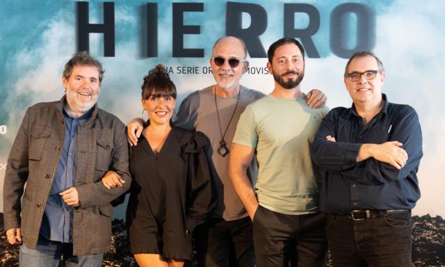 Los creadores y el reparto de Hierro, la serie de Movistar+