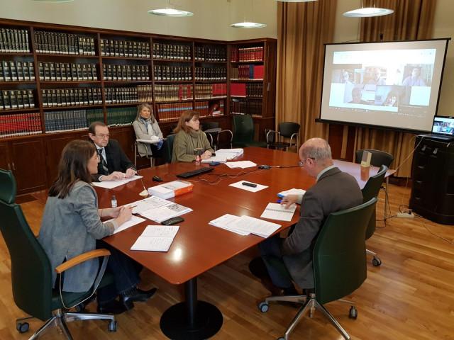Reunión telemática de la Xunta y la CIUG sobre la ABAU