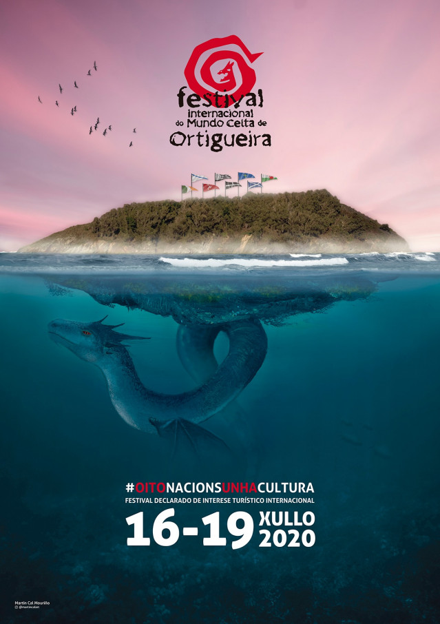 Cartel del Festival de Ortigueira de 2020