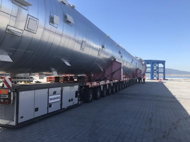 La refinería coruñesa inicia la construcción de una nueva unidad de obtención de propileno grado polímero