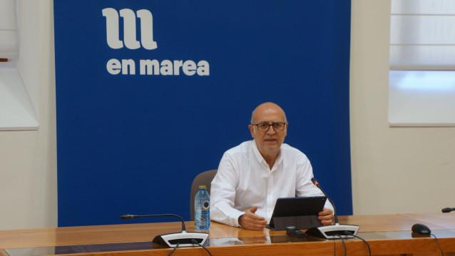 El diputado del Grupo Mixto y miembro de En Marea Pancho Casal.