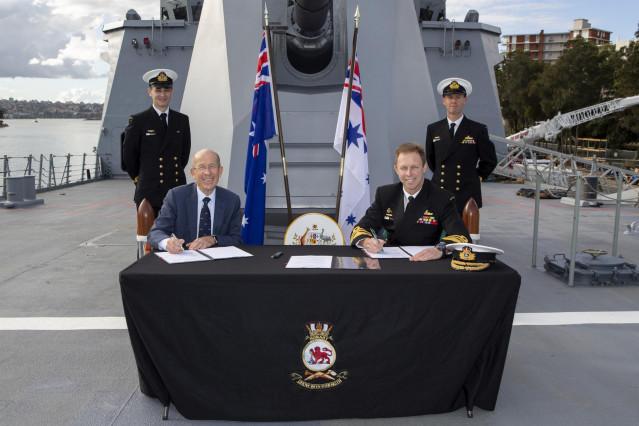 Navantia firma con Australia el mantenimiento de todos los buques construidos o diseñados por la empresa naval española.