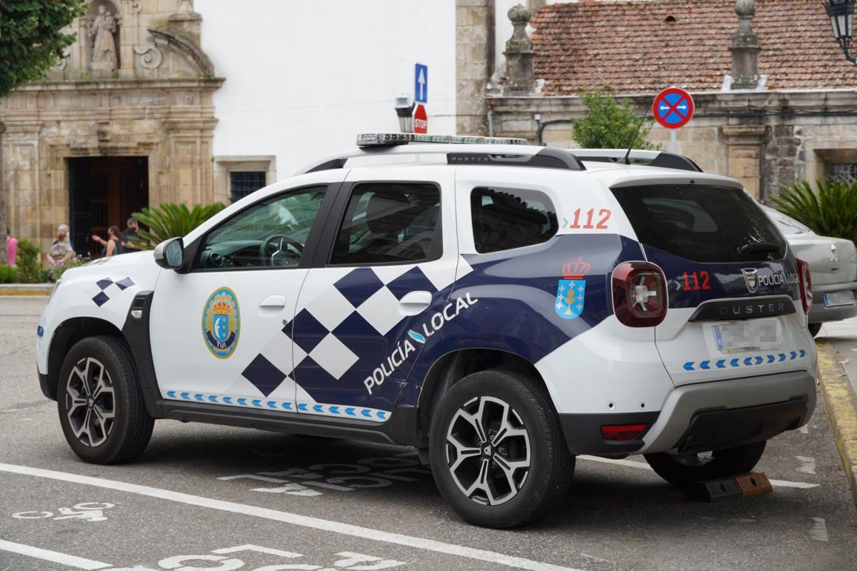 Agrede a un funcionario, a un vigilante y termina detenida al tratar de agredir a un Policía Local de Lugo.