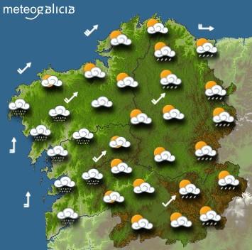 Predicciones para el sábado 15 de agosto en Galicia.