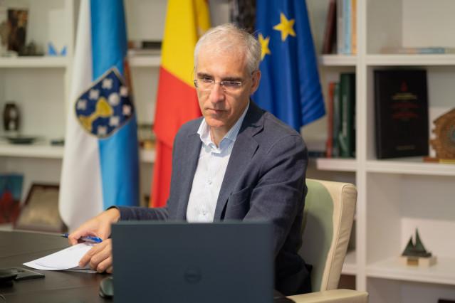 O conselleiro de Economía participa na xuntanza da mesa multilateral de Alcoa San Cibrao