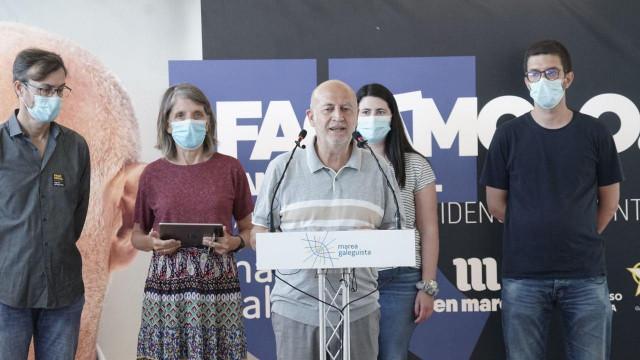 Pancho Casal en rueda de prensa
