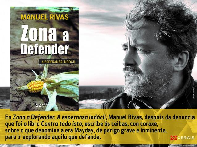 Libro de Manuel Rivas, 'Zona a defender'