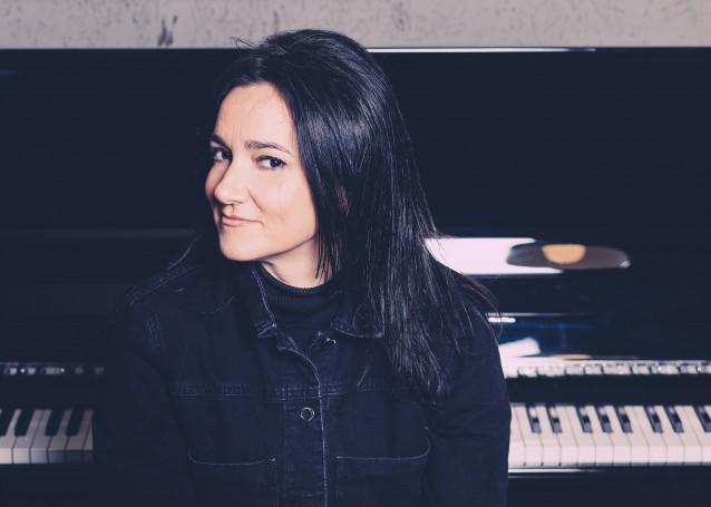 La cantante Guadi Galego