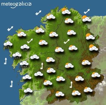 Predicciones para el jueves 28 de enero en Galicia.