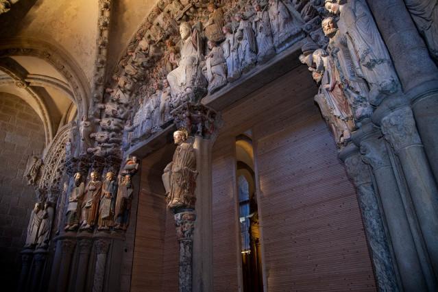 Pórtico de la Gloria de la Catedral de Santiago