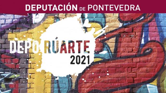 Cartel del ciclo 'DepoRúARTE polo clima: pensando no 2030', impulsado por la Diputación de Pontevedra