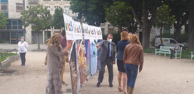 El alcalde de Vigo, Abel Caballero, presenta la programación de actividades de Navidad, el 1 de junio de 2021.