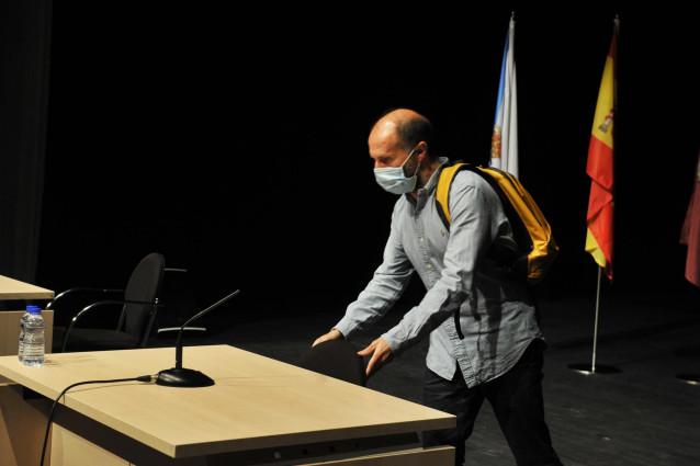 El alcalde de Ourense, Gonzalo Pérez Jácome, somete su cargo de cuestión de confianza, a 14 de junio de 2021, en Ourense.