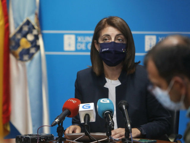 La conselleira de Medio Ambiente, Ángeles Vázquez