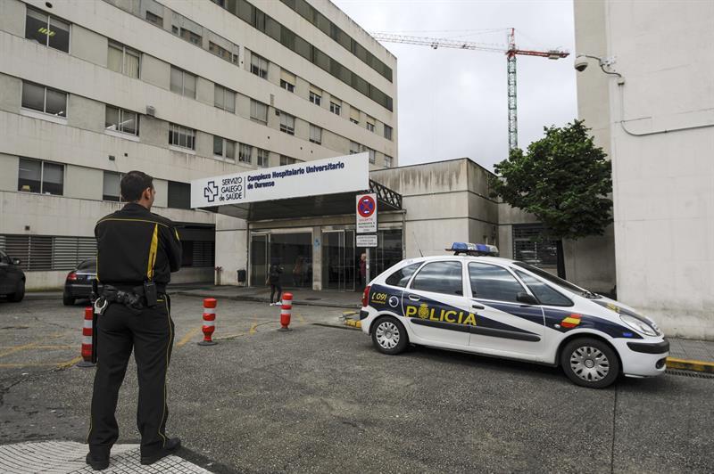 Tres vigilantes de seguridad agredidos en el Hospital de Ourense