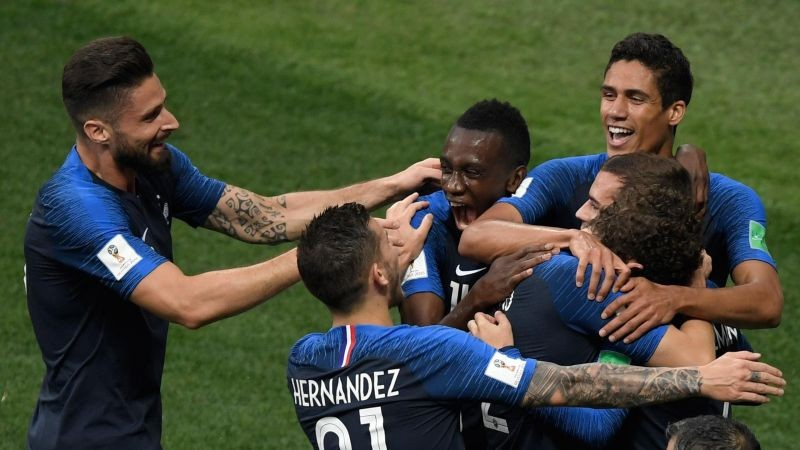 Francia celebra mundial gettyimages